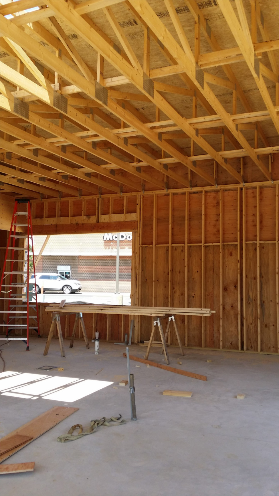 interior framing dunkin donuts salisbury MD
